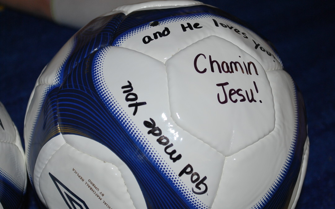 Soccer Balls and Scriptures