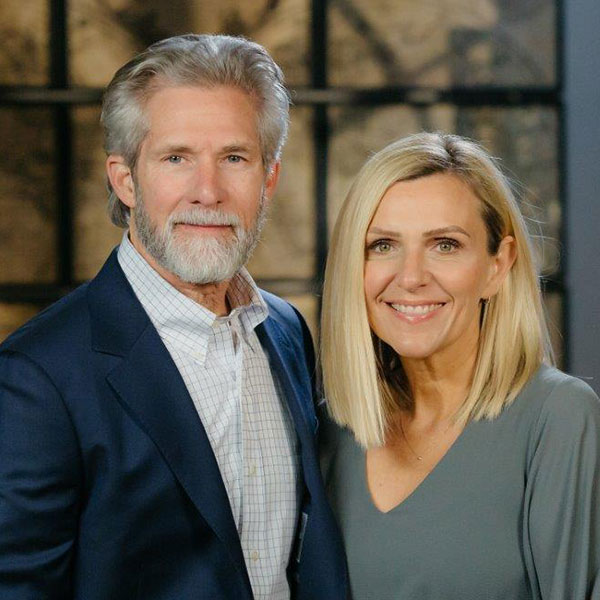 Paul and Jennifer Osteen